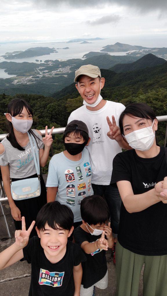 朝熊山展望台