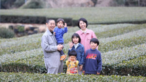 茶娘の家族