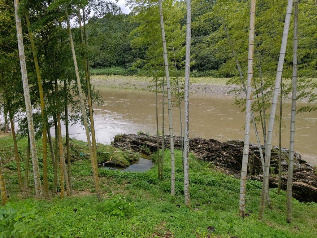 濁った宮川
